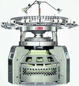 ماشین بافندگی گردباف رلتکس فول الکترونیک ژاکارد یکرو و دو رو رلتکس